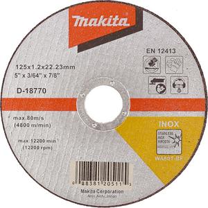 DISC TĂIERE INOX 125X1,2