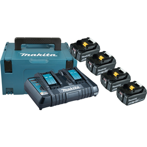 POWER SOURCE KIT LXT MAKPAC + BL1850Bx4 + DC18RD