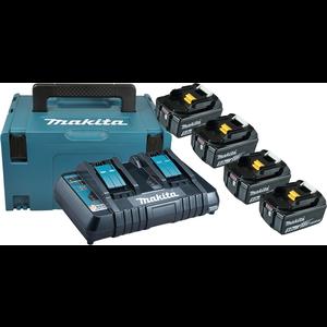 POWER SOURCE KIT LXT MAKPAC + BL1850Bx4 + DC18RD