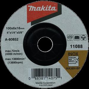DISC ȘLEFUIRE INOX 100X6X16